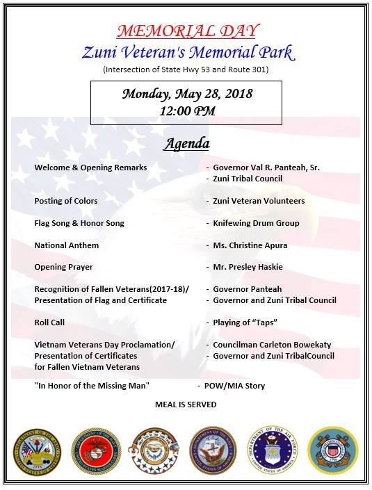528 Zuni Veterans Memorial Park Navajo Hopi Honor Riders