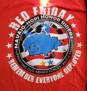 Red Friday #NHHRiders long sleeve tshirt