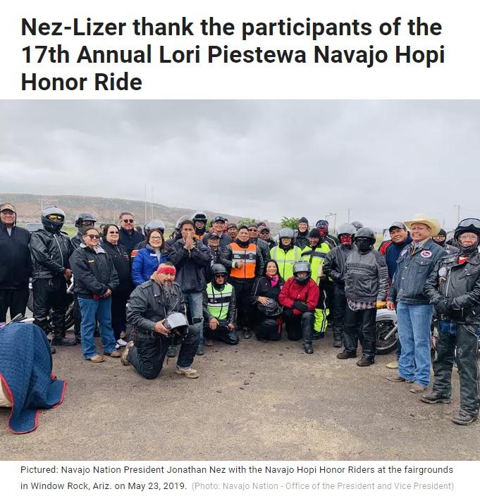 Navajo Hopi Honor Riders
