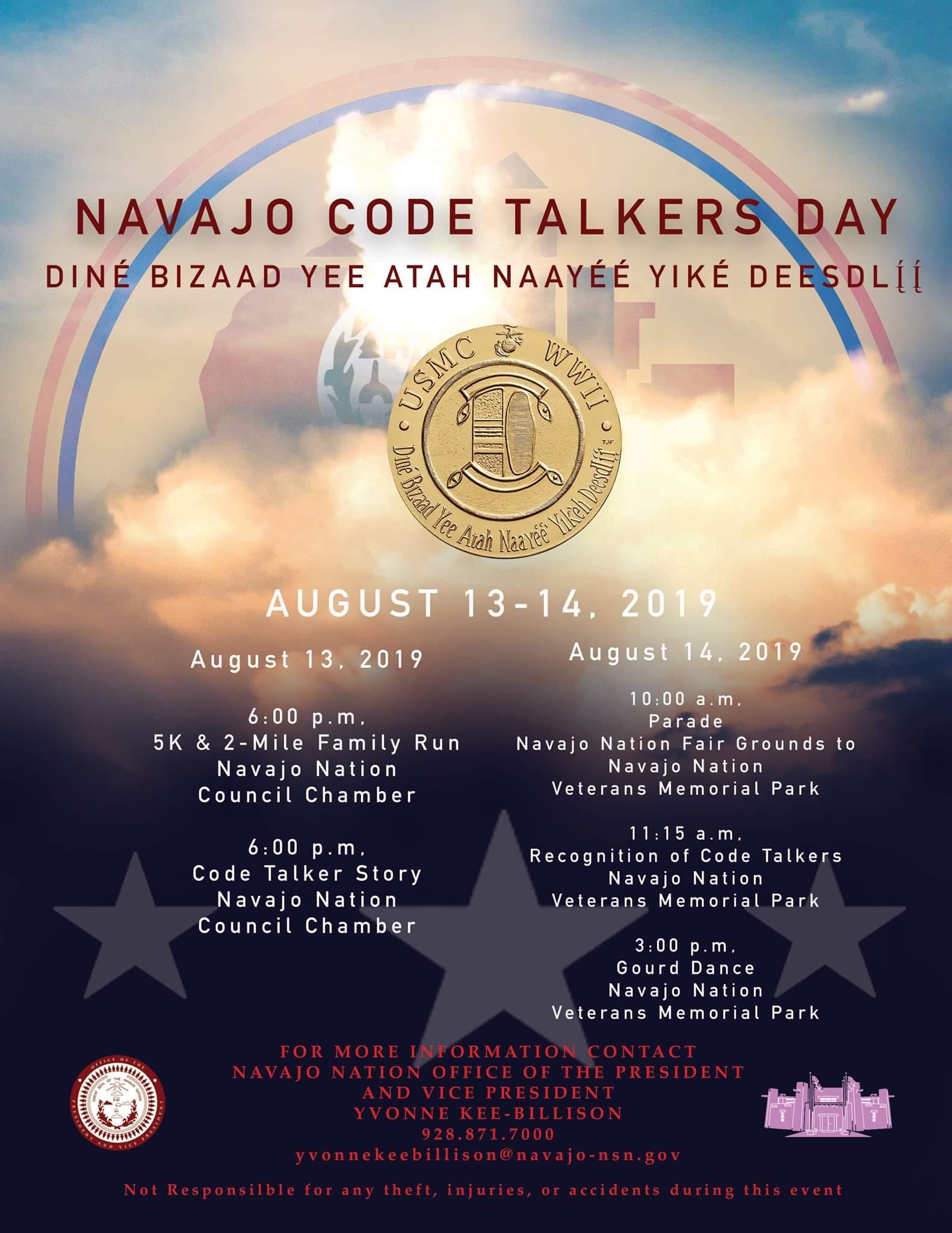 NNavajo Code Talker Day 2019