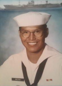 US Navy veteran Burt Wilson
