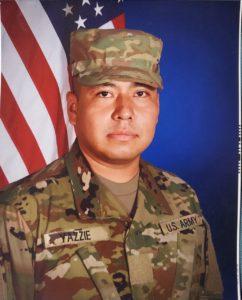US Army SPC Miguel Douglas Yazzie