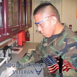 US Airforce Sr Airman Brandon D. Yazzie