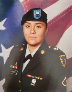 US Army SGT Tiffany Benally
