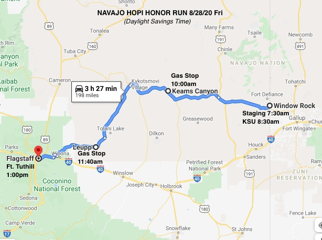 2020 Navajo Hopi Honor Ride