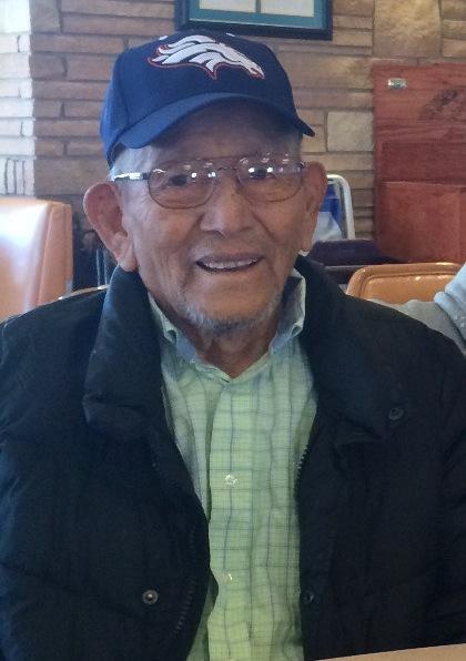 WWII veteran, US Army PFC Earnest C. Becenti Sr