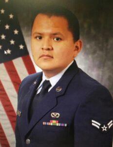 US Air Force AMN Terrell Christopher Ryan Daw